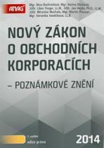 Nový zákon o obchodních společnostech a družstvech 2014