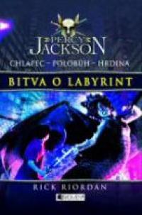 Kniha Bitva o labyrint (Rick Riordan)