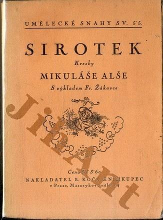 Sirotek Kresby Mikulase Alse Bazar Knih Cbdb Cz